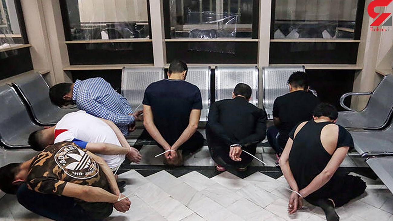 عکس / این اراذل و اوباش در قم دستگیر شدند