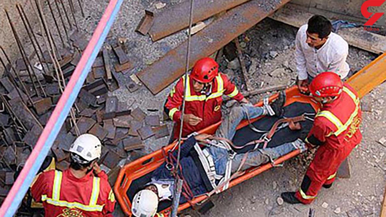 سقوط مرگبار کارگر ساختمانی در البرز