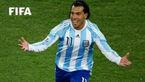 کارلوس توز مقابل تیم ملی مکزیک گل کاشت + فیلم