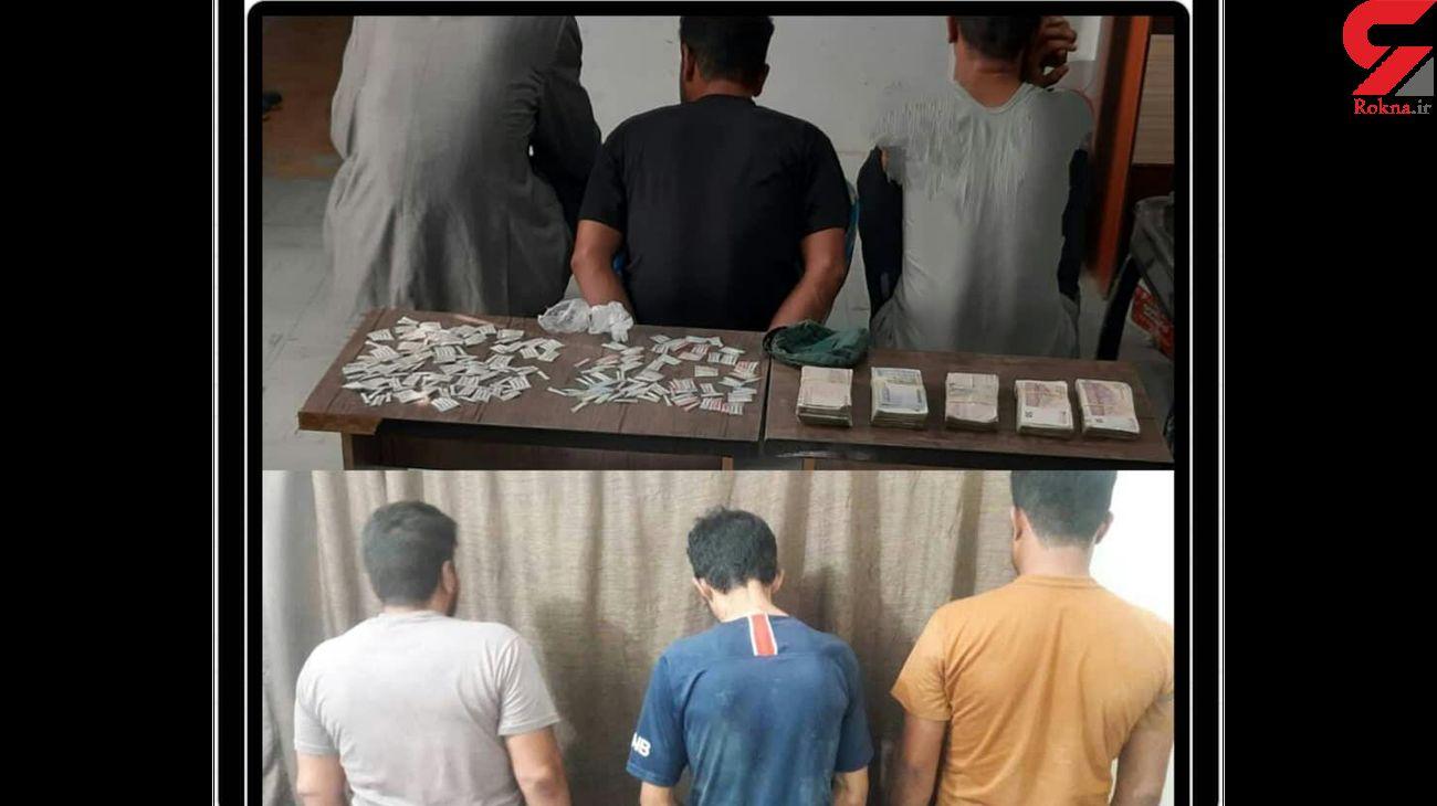 بازداشت 6 سارق و خرده فروش مواد مخدر توسط ماموران ناجا در آبادان