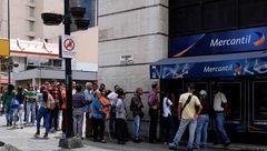 قحطی در ونزوئلا، هجوم مردم به خودپردازها +عکس