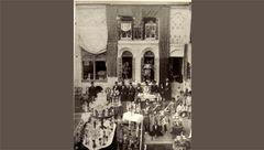 مراسم عروسی لاکچری در دوره قاجار +عکس