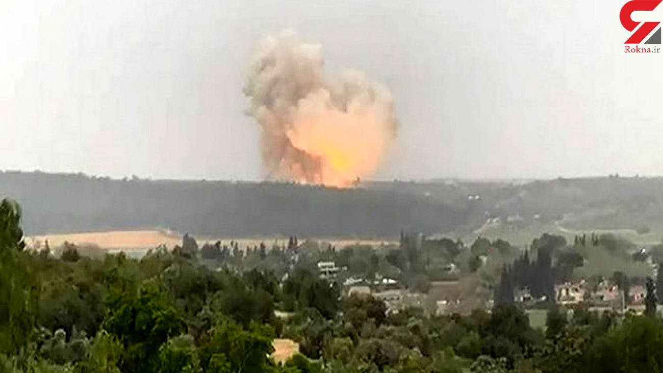 انفجار بزرگ در تاسیسات امنیتی حساس اسرائیل + جزییات