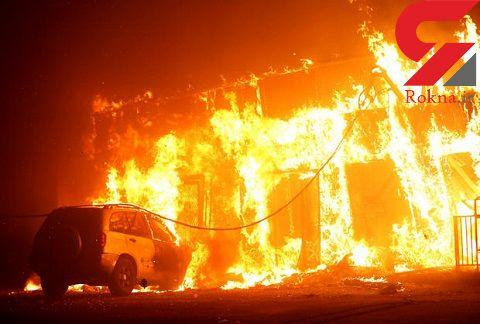 آتش سوزی در کالیفرنیای آمریکا ۹ کشته بر جا گذاشت + تصاویر