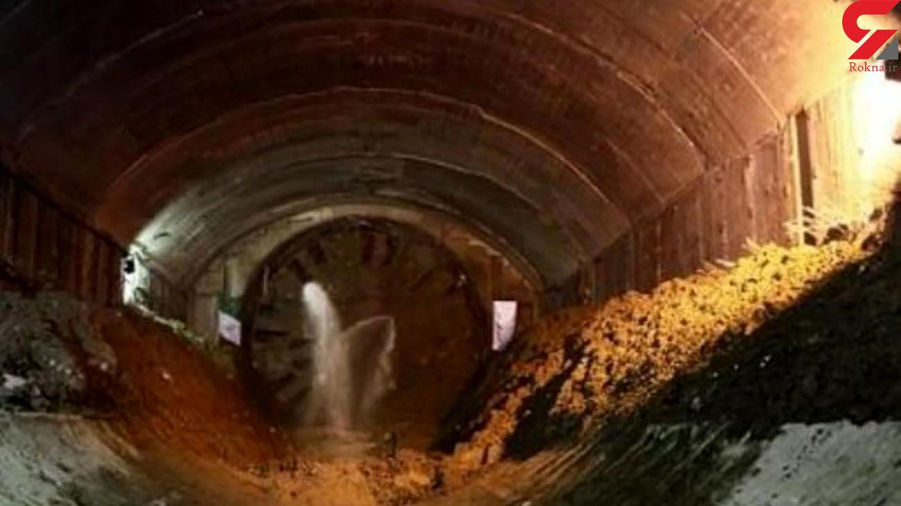 ریزش مرگبار تونل معدن در منوجان + عکس