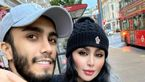 مهراد جم و دنیا جهانبخت در انگلیس منتظر تولد بچه شان + عکس