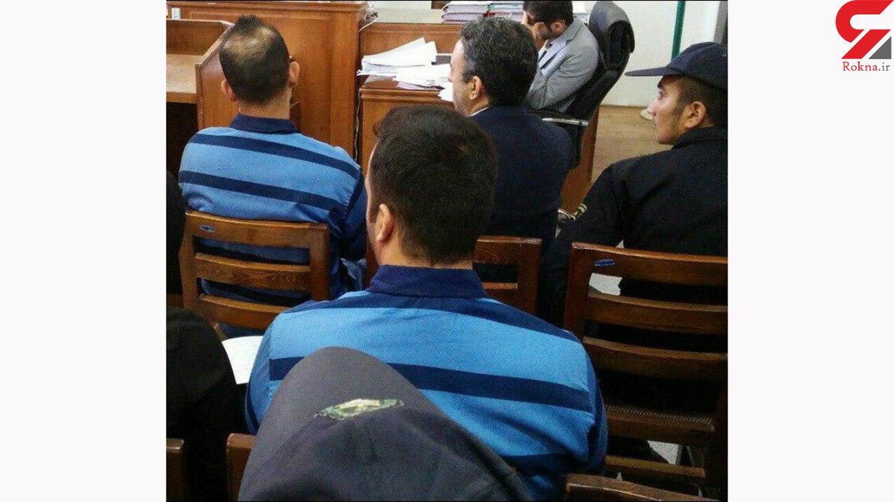قتل ناپدری با اجیر کردن قاتلی معروف به ابلیس سیاه + عکس دادگاه تهران