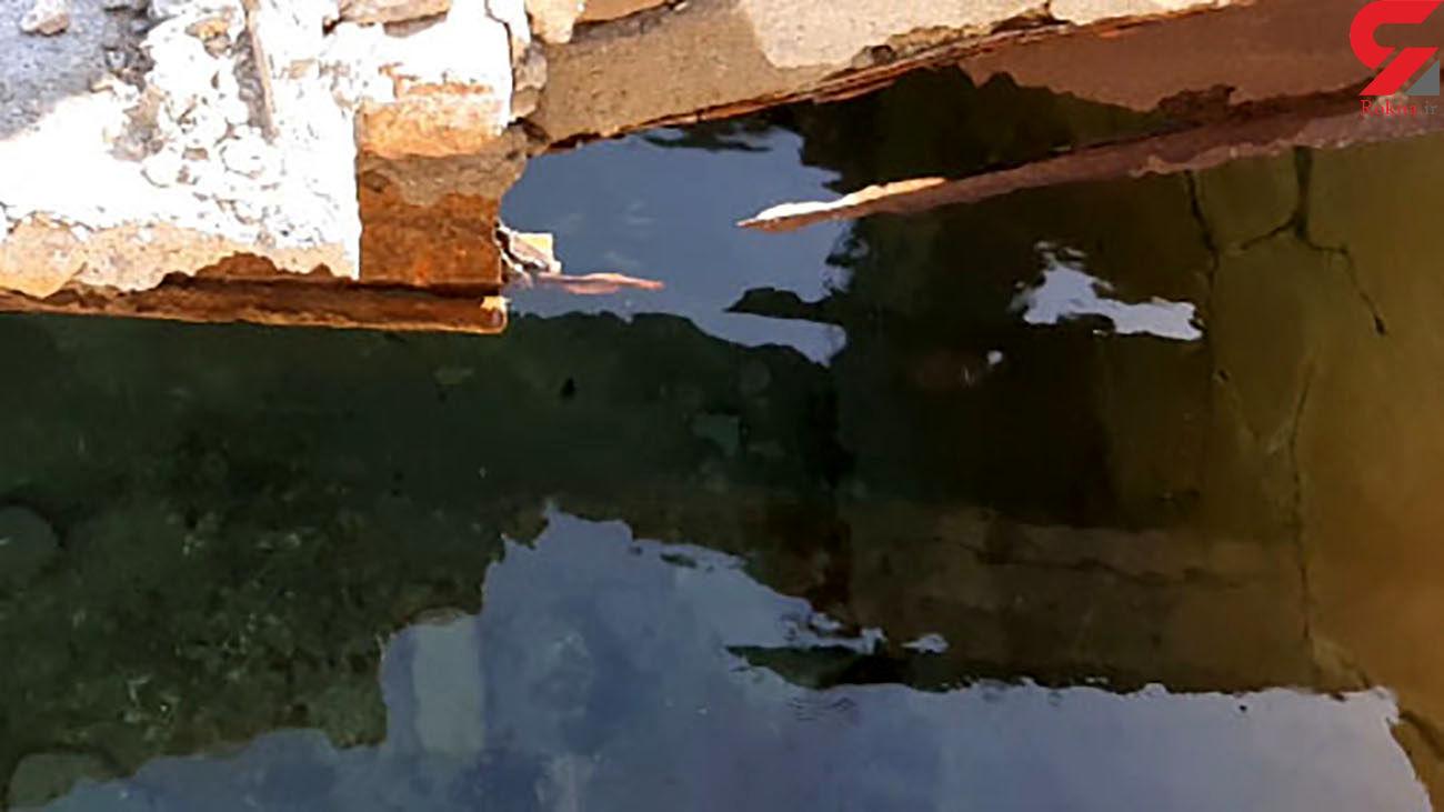 وضع نامناسب منبع آب در روستای هیتک + فیلم