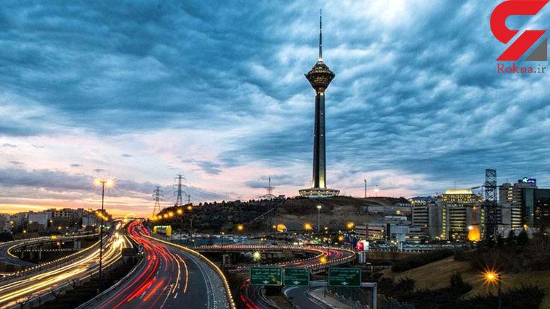 اماکن و محلاتی از تهران که بر روی گسلها قرار دارند +اینفوگرافی