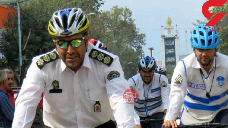 پلیس راهنمایی گیلان دست به کار جالبی زد +عکس