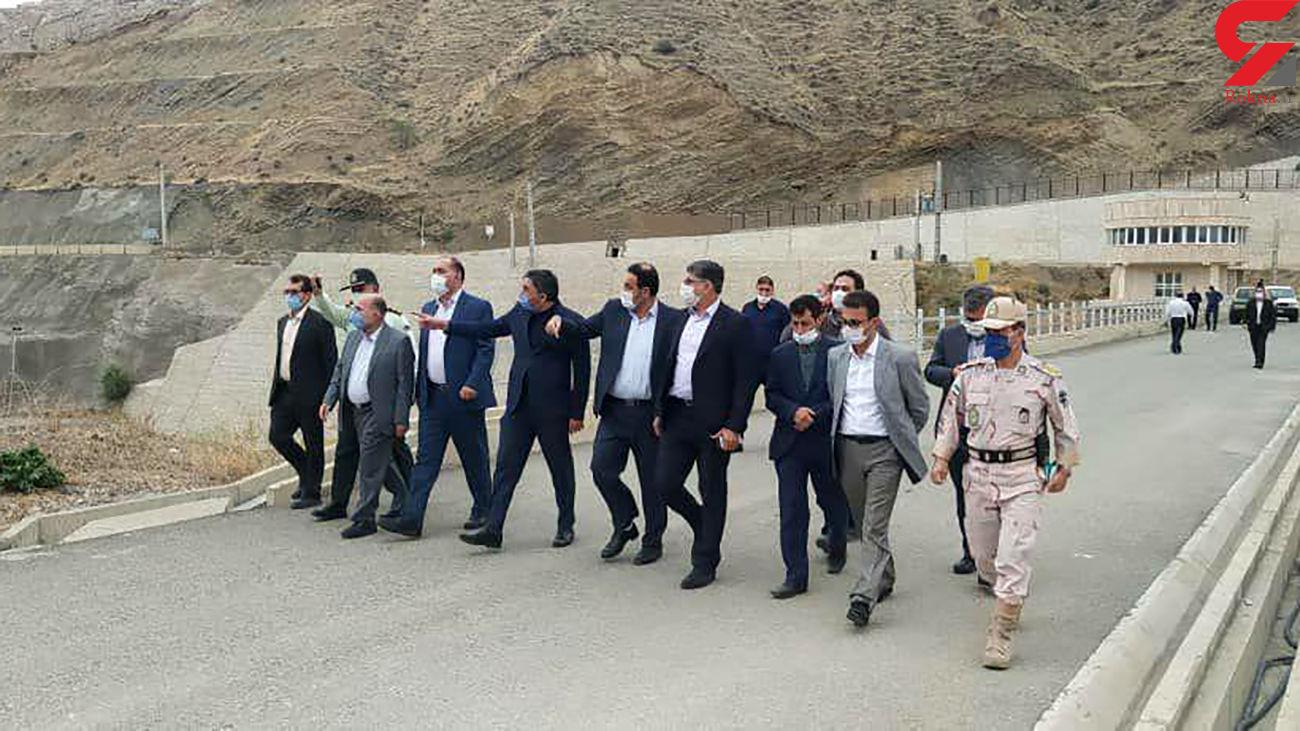 حضور هیئتی از کمیسیون امنیت ملی در مناطق مرزی ایران و جمهوری آذربایجان