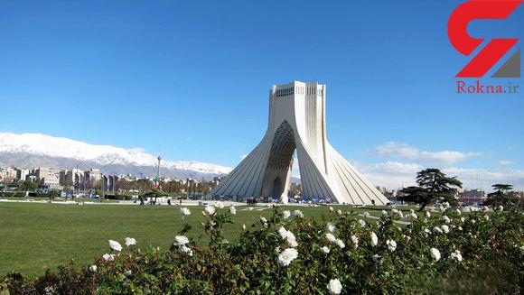 هوای تهران سرانجام سالم شد !