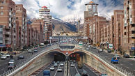 وضعیت ترافیک معابر بزرگراهی تهران در صبح سهشنبه