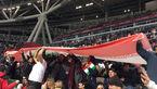 غلبه هواداران ایرانی بر سرمای کازان