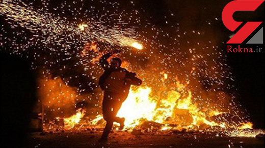 حوادث چهارشنبه سوری در قزوین ۳۹ مجروح برجای گذاشت