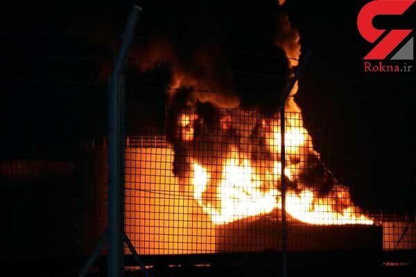 آتش به جان پالایشگاهی در کویت افتاد