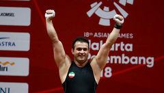 تقدیر از سهراب مرادی به خاطر رکوردشکنی در بازیهای آسیایی