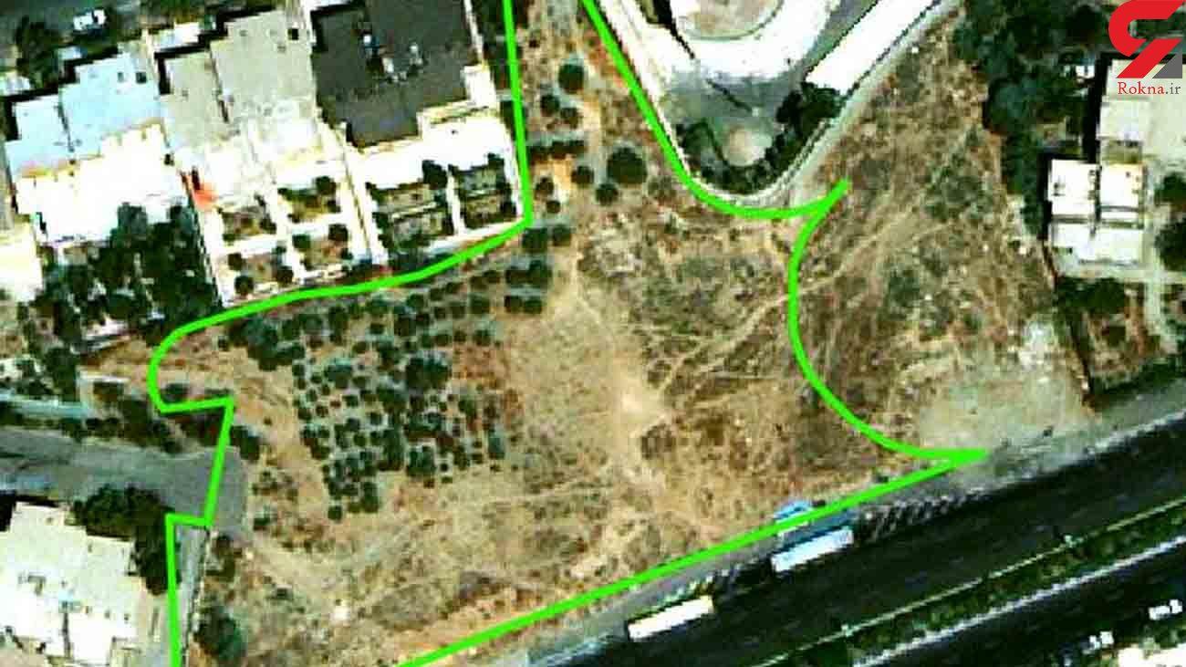 همدستی وزارت راه و شهرسازی و شورا برای نابودی یک باغ 6 هزار متری