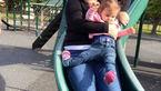 ماجرای تلخ سرسره بازی در پارک/بلایی که سر دختر خردسال آمد+عکس