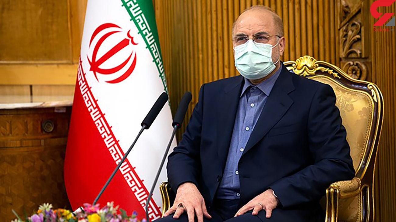 تقدیر نمایندگان مجلس از قالیباف به خاطر حفظ وحدت جریان انقلاب