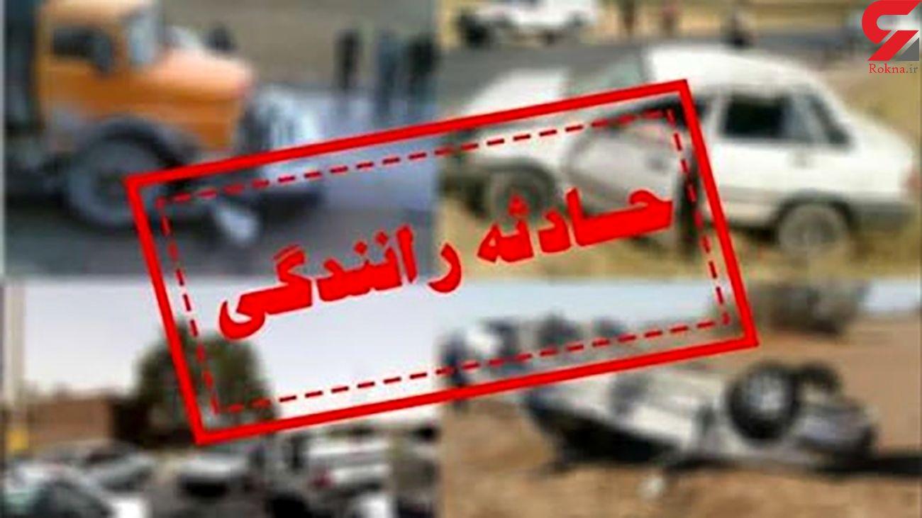 تصادف هولناک با 2 کشته در کرمان
