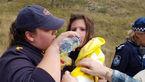 نجات معجزآسای دختر 3 ساله ناپدید شده در جنگل تاریک+ عکس