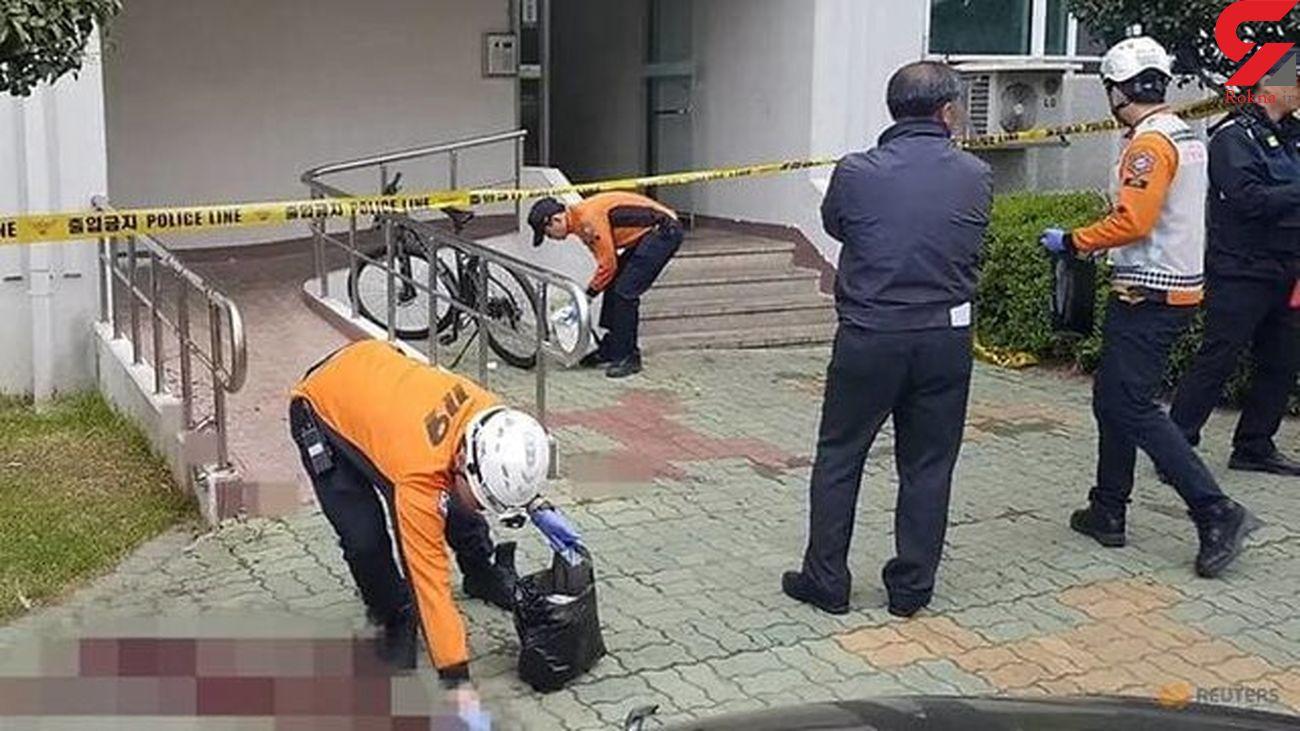 مرد چشم بادامی آپارتمانش را به آتش کشید و 5 نفر را سلاخی کرد+ عکس