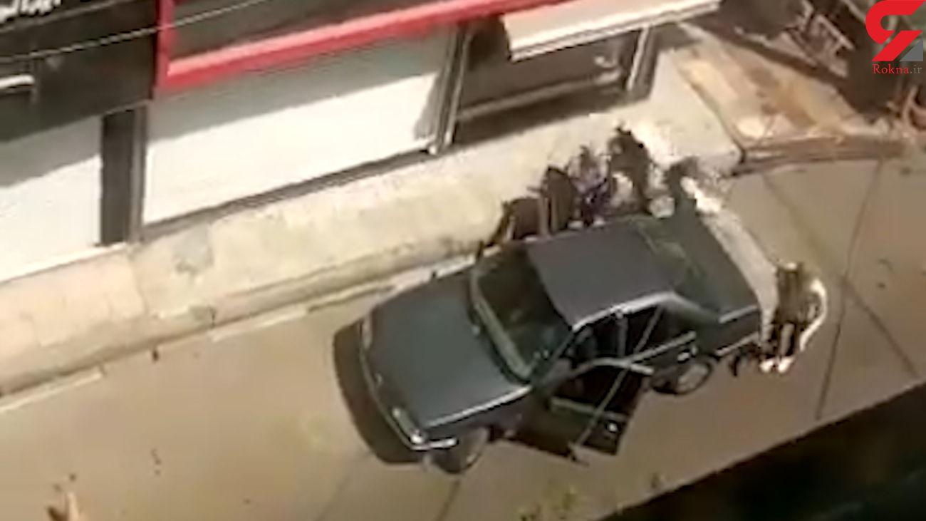 فیلم سرقت مسلحانه خونسردانه از طلافروشی در اسلامشهر / ساعتی پیش رخ داد