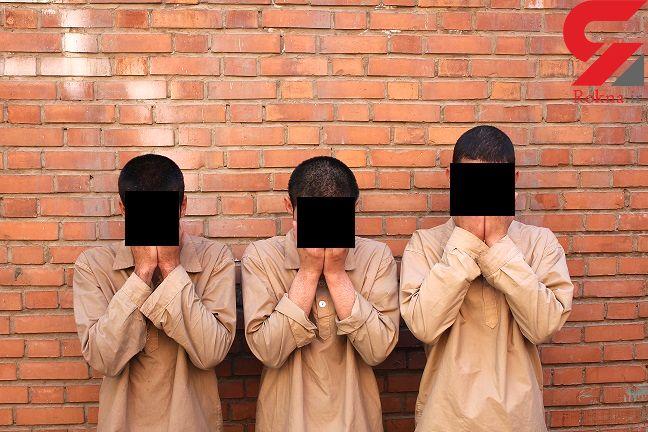 این 3 مرد خبیث در صادقیه مرگ می فروختند + عکس
