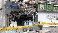 انفجار گاز شهری در فروشگاه چرخ خیاطی حادثه آفرید
