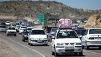 ترافیک سنگین ولی روان در جاده بینالمللی تهران ـ مشهد
