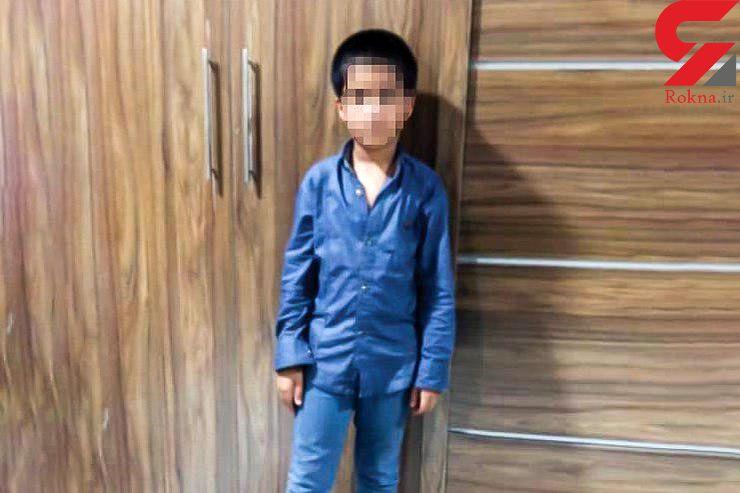فرار نیمای 11 ساله از چنگال عموی پلیدش / سرنوشت این بچه یتیم اشک ماموران کلانتری را در آورد + عکس