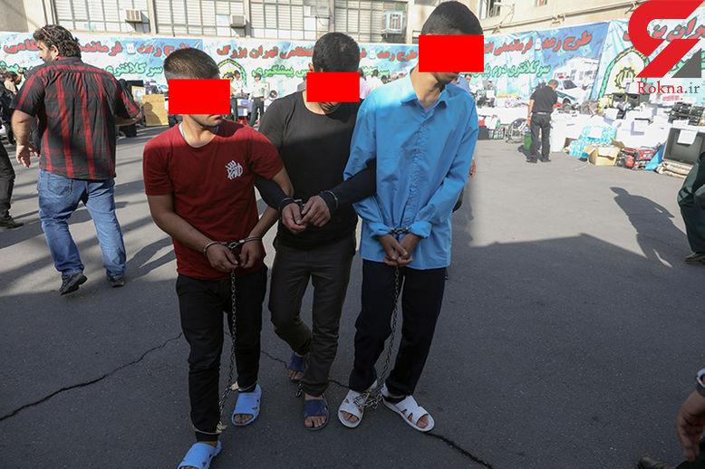 دزدان تهرانی  به محل سرقت بازگشتند ! / پلیس هم شوکه شد ! + فیلم گفتگوی اختصاصی