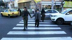 مهربانی زیبای پلیس مسلح در آذربایجان شرقی! + عکس