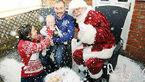 کریسمس تلخ و زود هنگام برای پسری که زمان برای زندگی ندارد+ عکس