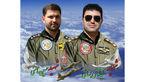 اولین عکس از 2 خلبان شهید حادثه هواپیمای اف 5 دزفول
