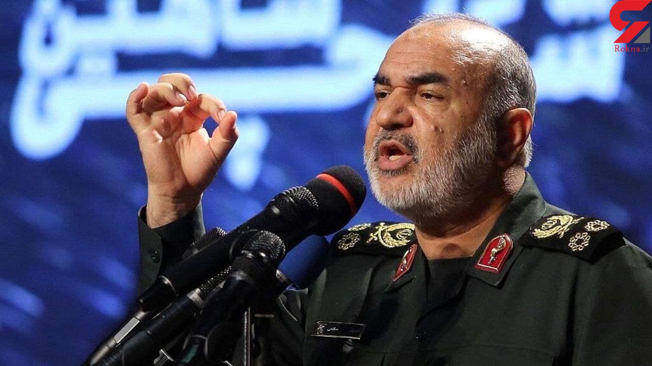 فرماندهکل سپاه: کمر همت را برای امنیت خلیج فارس محکم بستهایم