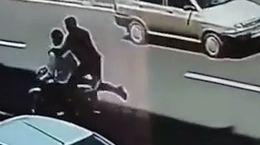 فیلم لحظه سرقت گوشی در جنت آباد تهران