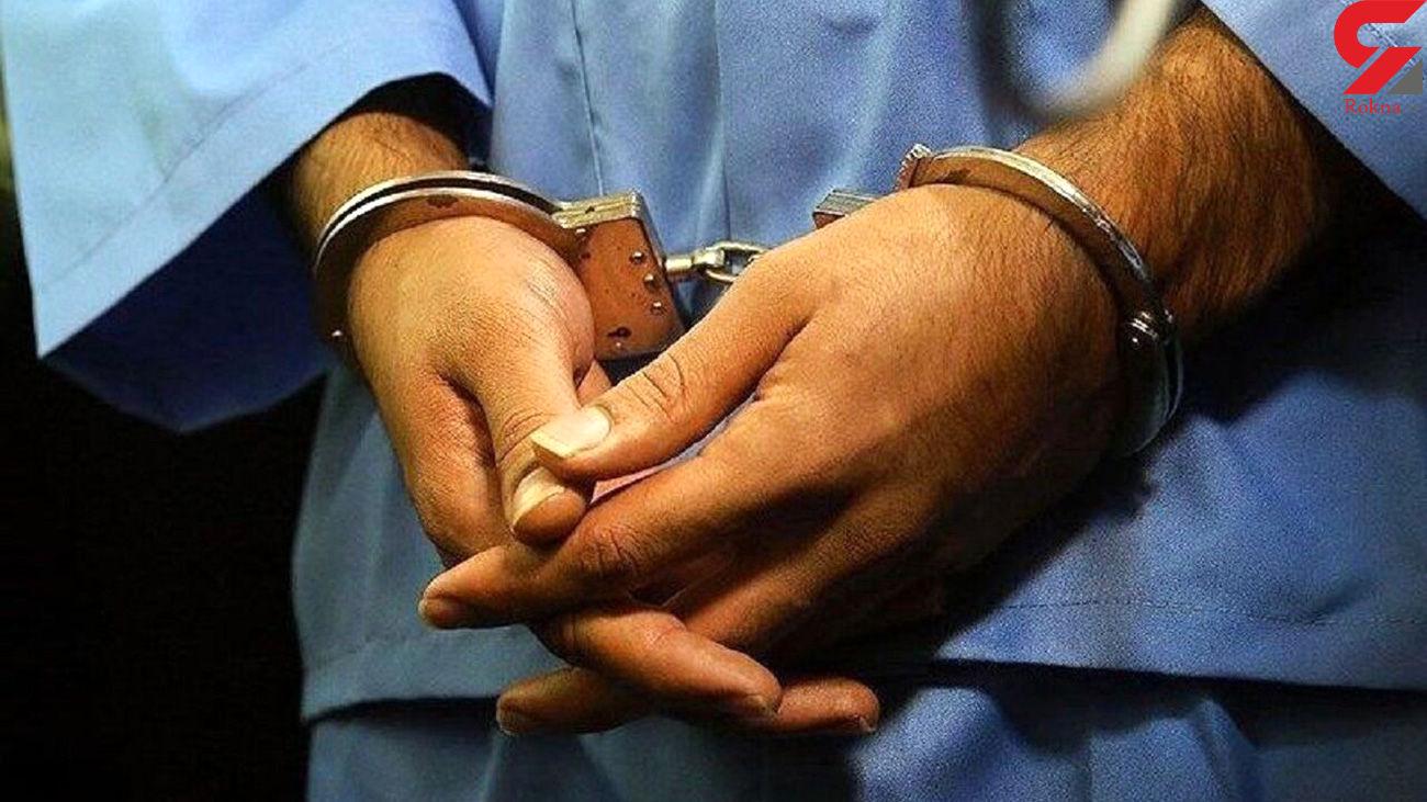 دستگیری سارق پلهای آهنی در هریس