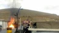 فداکاری آتش نشانان نهاوندی جلوی یک فاجعه بزرگ را گرفت + فیلم وعکس