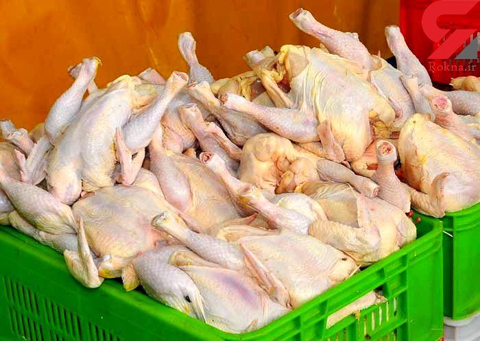 قیمت امروز مرغ گرم 10600 اعلام شد