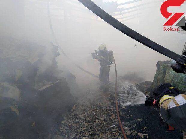 آتش سوزی هولناک در خاوران