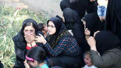 تصویری از رعب و وحشت زنان و کودکان از حمله تروریستها در اهواز +عکس