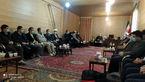 دیدار مسئولین ادارات ونهادهای دولتی در شهرستان هشترود با امام جمعه