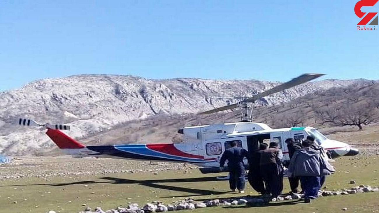 پرواز بالگرد جان جوان خوزستانی را نجات داد