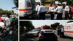 تصادف زنجیره ای ۵ خودرو در باقرشهر/۳ نفر مصدوم شدند