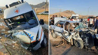 تصادف آمبولانس اورژانس و پژو در کرمانشاه