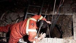 مرگ هولناک 3 کارگر بر اثر ریزش چاه + عکس