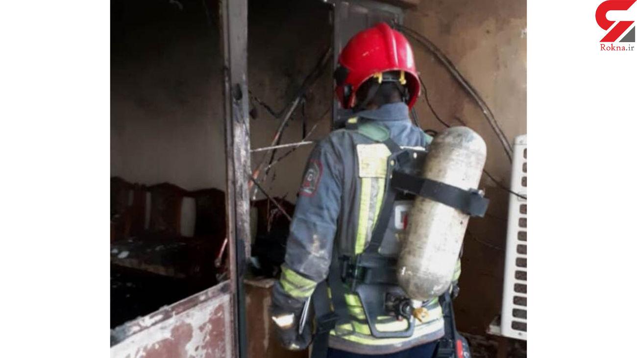 2 آتشسوزی هولناک بر اثر اتصال برق در اهواز