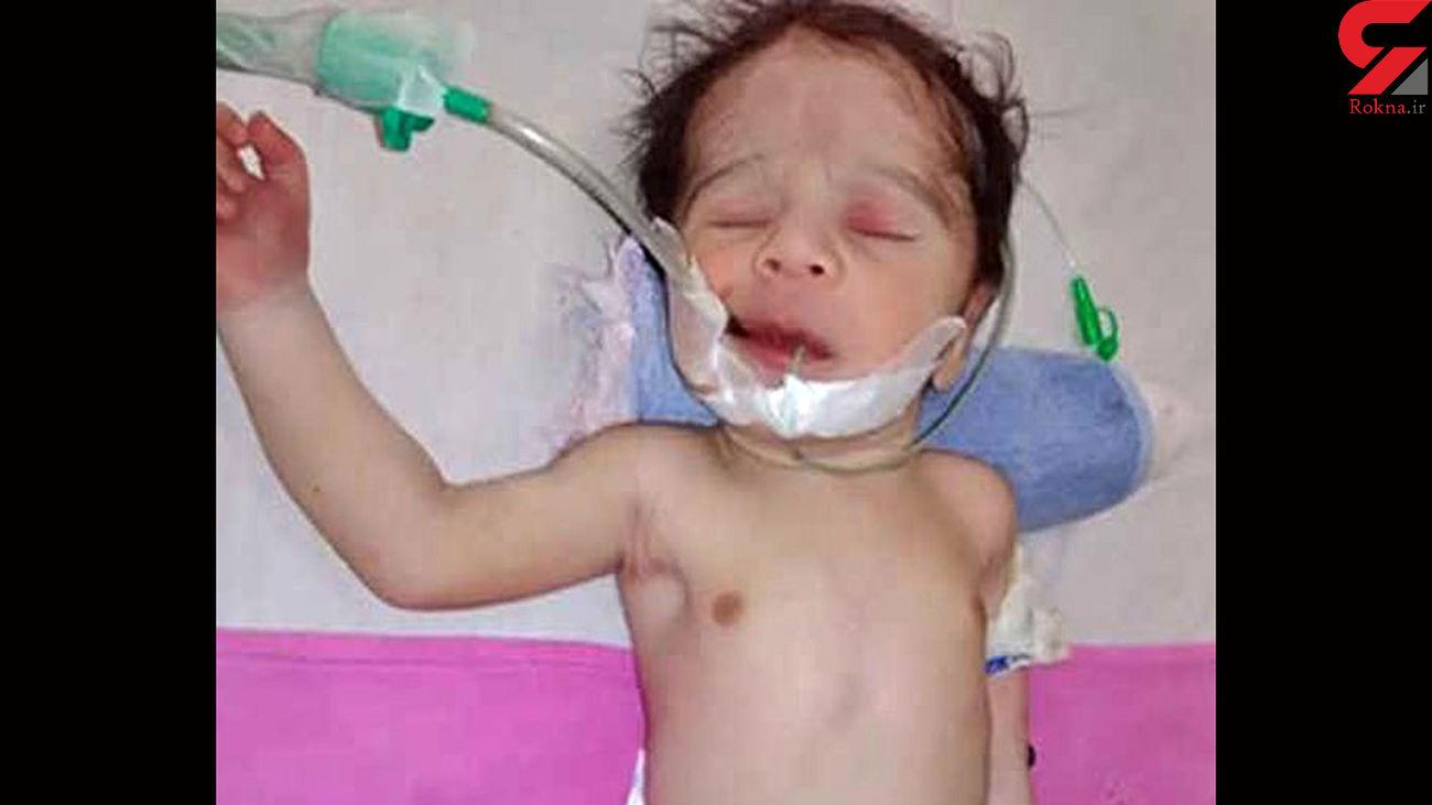 جسد حلق آویز مادری که زایمان کرده بود / بندناف نوزاد پاره نشده بود + عکس